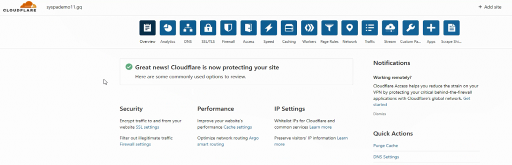 syspa social cloudflare